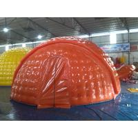 Wholesale Water Proof 6m Diameter PVC Tarpaulin Inflatable Camping Tent With EN14960 from china suppliers