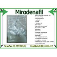 Wholesale Male Enhance Powder Mirodenafil Treat Erectile Eysfunction Problems CAS 862189-95-5 from china suppliers
