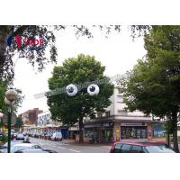 Buy cheap Giant Inflatable Eyeball Inflatable Event Decoration Aerated For Advertising from Wholesalers