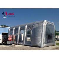 Wholesale White Microwave Inflatable Paint Booth For Auto Paint Dryer , CE Approved from china suppliers