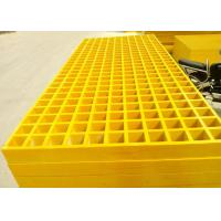 Wholesale Smooth Plastic Grating Panels , 38 X 38 Hole Plastic Grate Flooring For Walkway from china suppliers