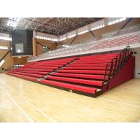 Aluminum Collapsible Bleachers Seating Firepoof For School Sports High Load