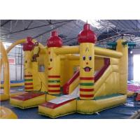 Quality Durable PVC Inflatable Combo , Party Castle Bounce House With Slide for sale