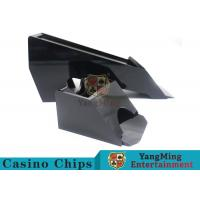 Wholesale Black Color Gambling Dedicated Casino Card Shoe , One Deck Shoe For Poker Cards from china suppliers