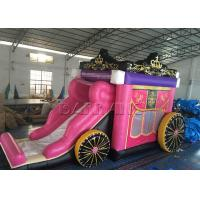 Wholesale Princess Carriage Shaped Inflatable Slide Waterproof Kids Playground 8 X 4 X 4m from china suppliers