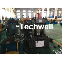 Wholesale Carbon Steel Top Hat Channel Cold Roll Forming Machine With 1.5 Inch Chain from china suppliers