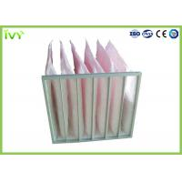 China Secondary Efficiency Bag Replacement Air Filter 100% Max Relative Humidity on sale