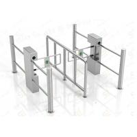 Wholesale Security Automatic Pedestrian Swing Barrier Gate Government Passage Turnstiles from china suppliers