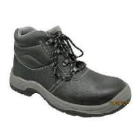 Wholesale Cow Leather Upper Steel Toe Cap PU Outsole Safety Shoes (ABP1-1004) from china suppliers