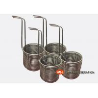 Buy cheap Stainless Steel Tube Heat Exchanger / Immersion Coil Heat Exchanger For Mariculture from wholesalers