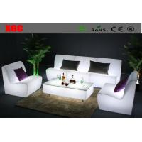 Wholesale Rotomolding Plastic Straight LED Light Sofa Table Sets For Outdoor Events from china suppliers