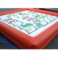 Wholesale Amazing Inflatable Outdoor Games Snakes And Ladders Playing With Foam Dice from china suppliers