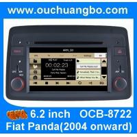 Wholesale Ouchuangbo autoradio DVD GPS for Fiat Panda(2004 onward) with steering wheel control mp3 from china suppliers