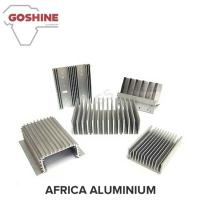 large aluminum 6061 T6 extruded heat sink price per kg for industrial cooler system for sale