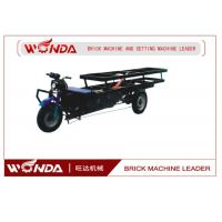 Quality Flat Bed Vehicle Electric Cargo TrikeTransporting Clay Bricks 900mm Wheel Base for sale