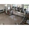 200 - 400kg / H Food Washing Equipment, Crayfish / Vegetable Processing Line for sale