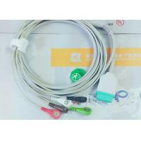 Wholesale Gray Color GE One Piece Ecg Patient Cable For Patient Monitoring Devices from china suppliers