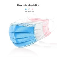 Wholesale Surgical Earloops Kids 3 Layers Disposable Face Mask from china suppliers