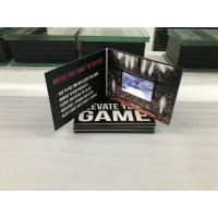 Buy cheap HD5inch hardcover Brochure Cards for Presentations Digital Advertising Player from wholesalers