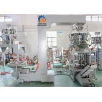 Wholesale Frozen Food Automated Packing Machine Multi Heads Weigher Schneider PLC Control from china suppliers
