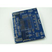 Wholesale Blue Multilayer PCB For Controller White Silkscreen Gold Surface Finish from china suppliers