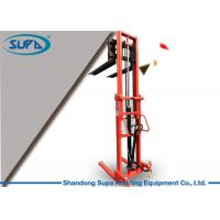 Wholesale Material Handling Hydraulic Pallet Stacker 680mm Fork Width To Transport Components from china suppliers