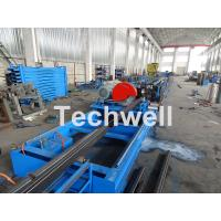 Wholesale Galvanized Steel Cold Roll Forming Machine With High Speed 12-15m/min For Rack Box Beam / Step Beam from china suppliers
