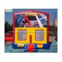 Wholesale Outdoor Spiderman Module Inflatable Bounce Houses For Birthday Party from china suppliers