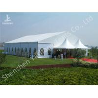 Wholesale Uv Resistant Red Carpet Decorated Outdoor Party Tents For Wedding Ceremony from china suppliers