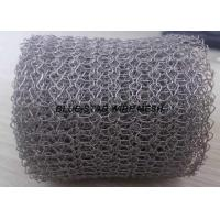 Wholesale Monel 400 / Inconel 600 Knitted Metal Mesh  Wire Dia 0.1 - 0.3mm For EMI Shielding from china suppliers
