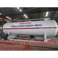 Buy cheap hot sale 40,000L mobile skid lpg gas station for refilling gas bottles, skid lpg gas tank with refilling system for sale from Wholesalers