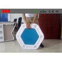Wholesale Waterproof Lightweight Outdoor Amusement Equipment Floating Poker Table For Pool from china suppliers