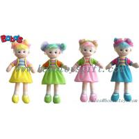 China Lovely Fashion Plush Stuffed Girl Doll Toy With Dress on sale