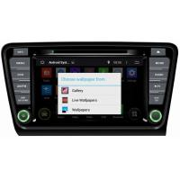 Wholesale Ouchuangbo Auto Radio Stereo DVD Player for Skoda Octavia 2014 Pure Android 4.4 GPS Naviga from china suppliers