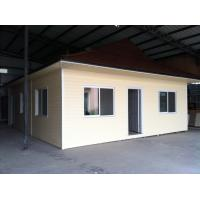 China Assembling East Timor Style Roof Prefab Bungalow Homes Unlimited Size on sale