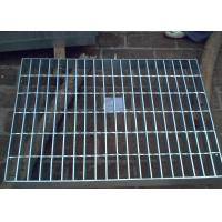 Wholesale Galvanized Steel Grating Drain Cover With Angle Frame Urban Road / Square Suit from china suppliers