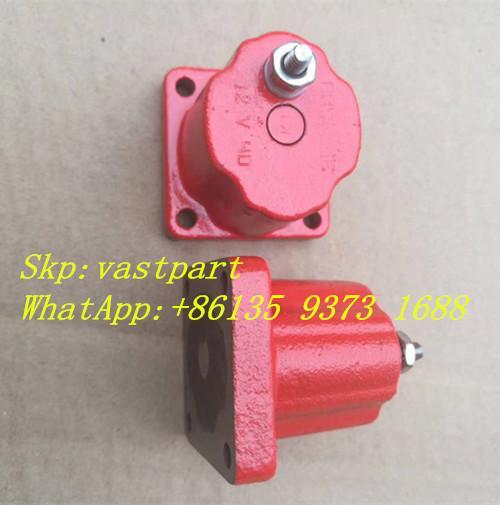 Quality Hot Sell Cummins QSM11 M11 diesel part Fuel Solenoid Valve 12V 24V 3054609 4024809 196066 for sale