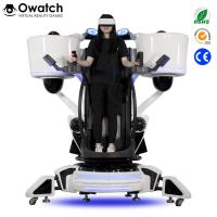 Wholesale Latest Publish Game Equipment Exciting Shooting 9D Vr Standing Platform Fly Motion Simulator from china suppliers