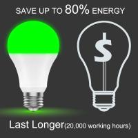 Multi Color Wifi Light Bulb No Hub 800Lm Energy Monitoring Dimmable