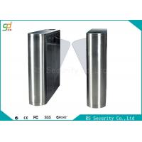 Wholesale Luxury High Security Flap Barrier Gate Turnstile With Speech Function Turnstile from china suppliers