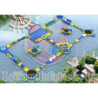 China Challage Customzied Inflatable Water Toys / Large Floating Water Park on sale