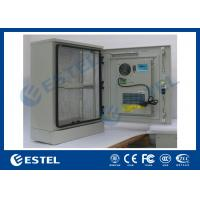 Wholesale Stainless Steel Outdoor Telecom Cabinet With Cooling System / Air Conditioner Type Telecom Enclosure from china suppliers