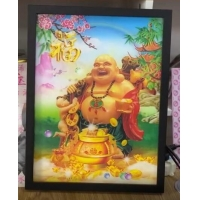 Wholesale 2021 hot sale cheapest advertising exhibition 3d art photos printing wedding photos with magic 3d lenticular effect from china suppliers