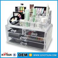 Wholesale Acrylic Cosmetic Storage Display Boxes, Wholesales cosmetic organizer with drawers,hot sales acrylic makeup organizer from china suppliers