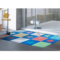 Wholesale Custom Outdoor Anti Slip Area Rugs For Indoor Mats With PVC Coated Dots from china suppliers