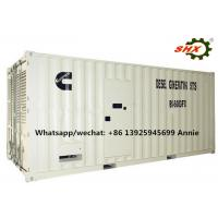 Wholesale Three Phase 1000KW Industrial Container Diesel Genset Water Cooled 400V from china suppliers