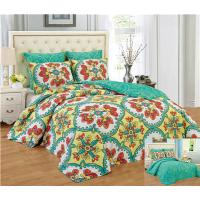 Wholesale Reversible 6pcs Comforter Set Printed Floral Bedding Set Premier Quality 1200 Egyption Cotton Touch from china suppliers
