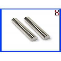 Permanent Rare Earth Neodymium Magnetic Bar / Rod 12000GS 25 * 100MM Coating SS304 / 316 for sale