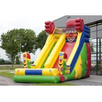 Wholesale Single Lane Super Clown Inflatable Slide 6.3m Height  With Logo Printing from china suppliers