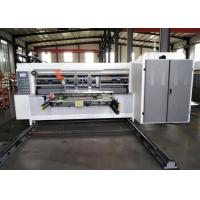 China Automatic Corrugated Water Ink Flexo Printer Slotter Die Cutter For Carton Box for sale